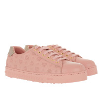 W Embo LT Logo String Added Sneakers Pink Blush Sneakerss