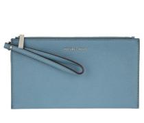Tasche - Mercer LG Zip Clutch Leather Denim