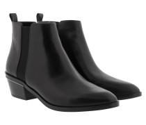 Flat Crosby Bootie Black Schuhe