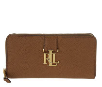 Carrington Zip Wallet Field Brown Portemonnaie