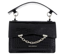 Umhängetasche Seven Croco Shoulder Bag Black
