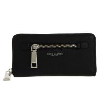 Gotham Standard Continental Wallet Black Portemonnaie