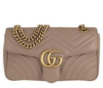 Umhängetasche GG Marmont Matelassé Shoulder Bag Porcel Rose
