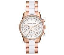 Armbanduhr - Ritz Pavé Rose Gold-Tone And Acetate Watch