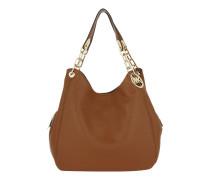Tasche - Fulton LG Shoulder Tote Luggage - in braun - Henkeltasche für Damen