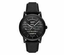 Uhren Men Three-Hand Leather Watch
