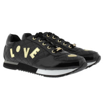 Sneakers - Sneaker Love Matelasse Black