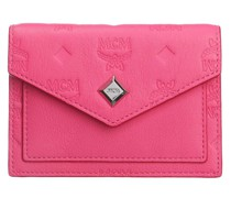 Portemonnaie Mini Love Letter Wallet Leather Sugar Pink