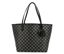 Cortina Metallic Lara Shopper Black