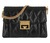 Umhängetasche Small GV3 Bag Diamond Quilted Leather Black