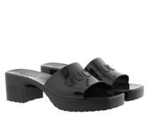 Sandalen Slide Sandal Rubber Black