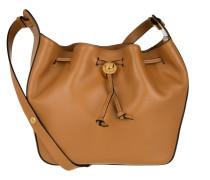 Clessidra Bucket Bag Cognac