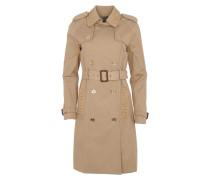 Trench Coat Khaki Mantel beige