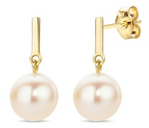 Ohrringe 14KT (585) Pearl Earrings