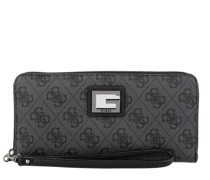 Portemonnaie Valy Large Zip Around Wallet Coal