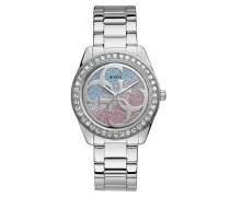 Uhr Women Quartz Watch G Twist Silver