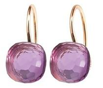 Ohrringe Earrings Happy Holi Pink Amethyst Cabochon
