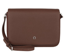 Juno Leather Crossbody Bag Hazelnut