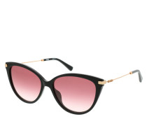 Sonnenbrille MOS069/S Sunglasses Black Red Gold