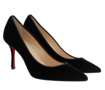 Decoltish 85 Velvet Pumps Black