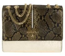 Tasche - Borsa Croco Crossbody Bag Glam/Military Green
