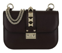 Rockstud Small Shoulder Bag Deep Rubin