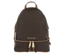 Rhea Zip MD Backpack Brown Rucksack braun