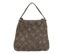 Tasche - Kindamba Hobo Bag Leather Rhino Brown Double Dyed - in braun