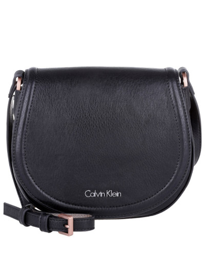 calvin klein damen calvin klein tasche robyn essential saddle bag black in schwarz. Black Bedroom Furniture Sets. Home Design Ideas