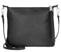 Tasche - Adria Leather Crossbody Bag Black