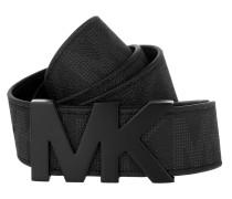 MK Hardware Men's Belt Black Gürtel
