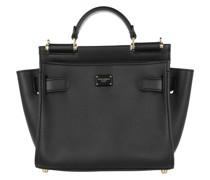 Satchel Bag Sicily Nero Marrone