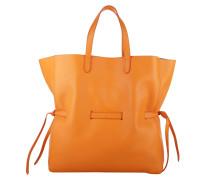 Tasche - Knitted Lace Shopper Orange