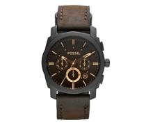Uhren Machine Mid-Size Chronograph Leather Watch