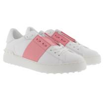 Bicolor Rockstud Sneakers White/Pink Sneakers rosa