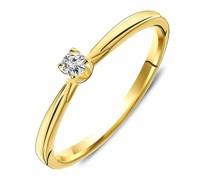 Ring 9KT 0.07ct Diamond