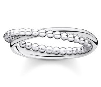 Ring Dots Silver
