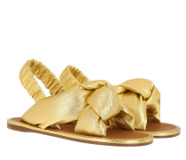 Sandalen Sandals Leather Gold
