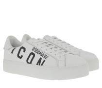 Sneakers Icon Sneaker Leather White/Black