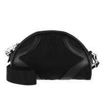 Umhängetasche Crossbody Bag Nylon Black