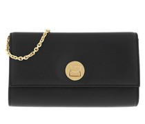 Umhängetasche Liya Chain Wallet Leather Noir