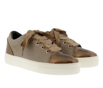 Daphne Soft Leather Sneaker Taupe