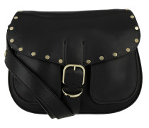 Biker Saddle Bag Black Satchel