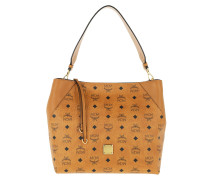 Hobo Bag Klara Visetos Hobo Medium Cognac cognac