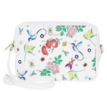 Umhängetasche Camera Case Batik Shoulder Bag White