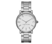 Roxy Watch Silver Armbanduhr
