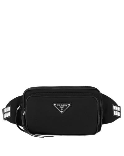Gürteltasche Stud Embellished Belt Bag Black schwarz