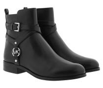 Boots Preston Flat Bootie Black