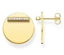 Ohrringe Ear Studs Together Coin