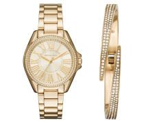 Armbanduhr - Ladies Gift Set Gold-Tone